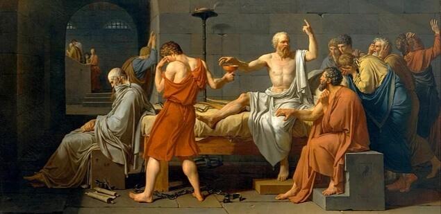 Sokrates son sözlerini derken