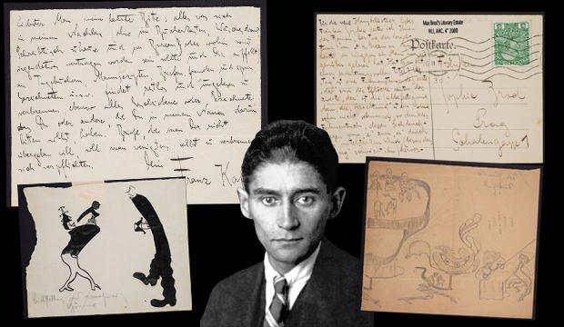 Kafka'nın el yazmalarının koleksiyonu yayınlandı