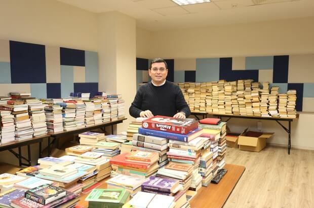 Trafo binası restore edilerek kütüphaneye dönüştürüldü
